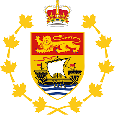 New Brunswick Flag File Badge Of The Lieutenant Governor Of New Brunswick Svg