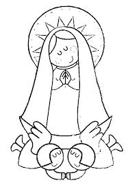 imagenes de virgen maria infantiles imagenes de la virgen del valle para colorear imagui dibujos e