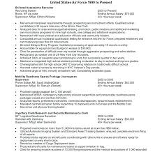 Military To Civilian Resume Templates Sample Military To Civilian Resume Certified Federal Resume Writer
