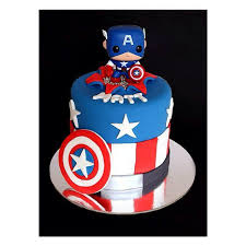 captain america cake topper the captain conquers cake instagram and birthdays