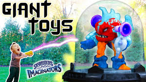 giant toy vs shrink ray skylanders imaginators creator app 3d