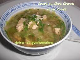cuisiner le chou chinois soupe au chou chinois et au poulet épices et gourmandises le