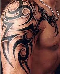 best shoulder tribal tattoomagz