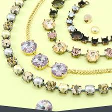 making necklace chain images Empty cup chain bases jpg