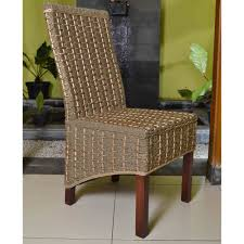 Seagrass Armchair Design Ideas Decorating Recommended Seagrass Dining Chairs With Brown Legs For