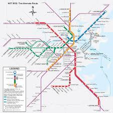 Map Boston Anagram T Map