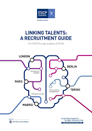 escp europe linking talents recruitment guide 2015 2016 by