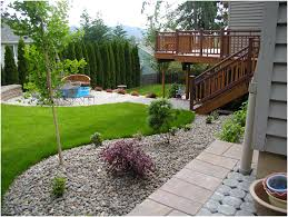 backyards winsome backyard gravel ideas modern backyard gravel