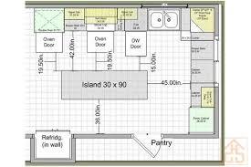 island kitchen floor plans kitchen floor plans with island inspirational various kitchen