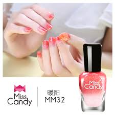 usd 17 98 miss candy health peel it tear glitter nail polish