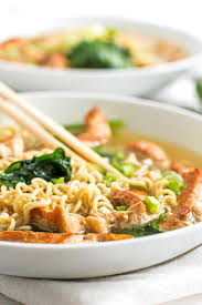 thanksgiving noodles recipe healthy turkey ramen bowls with spinach