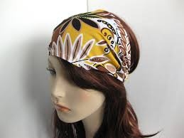 boho hair wraps boho headband wrap dreadband womens white yellow black brown