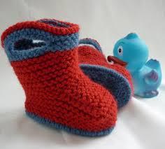 baby shoe knitting patterns