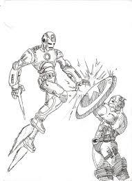 avengers iron man x captain america by m1nutemen on deviantart