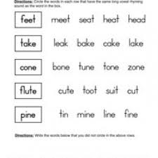 rhyming worksheets have fun teaching