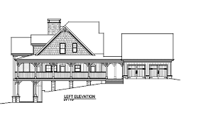 open floor plan with wrap around porch banner elk ii