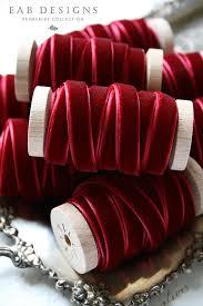 burgundy ribbon burgundy velvet ribbon wine velvet ribbon crimson velvet ribbon 3