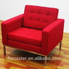 Florence Knoll Sofa Replica by Living Room Florence Knoll Replica Comfortable Fabric One Seat