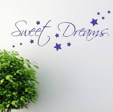 sweet dreams wall sticker art decals quotes bedroom w43 ebay sweet dreams wall sticker art decals quotes bedroom