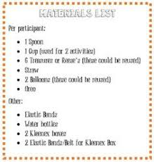 activity day ideas thanksgiving minute to win it minute to win