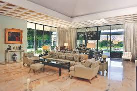 mid century modern home interiors peek inside palm springs midcentury modern homes dwell kitchen of