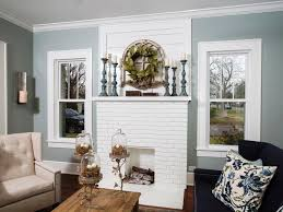 elegant white brick fireplace design ideas home fireplaces
