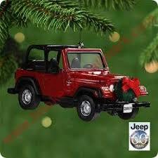 2001 jeep sport wrangler hallmark ornament