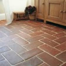 terracotta floor tile reclaimed deep hexagonal terracotta floor