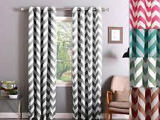 Chevron Pattern Curtain Panels Chevron Curtains Ebay