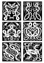 978 viking tattoo stock illustrations cliparts and royalty free