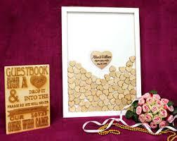 Wedding Wishes Shadow Box Shadow Box Guestbook Etsy