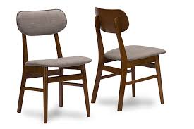 Mid Century Dining Room Chairs by Amazon Com Baxton Studio Sacramento Mid Century Dark Walnut Wood