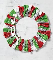how to make wreaths how to make christmas wreaths bandana wreath joann