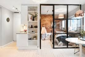 Small Apartment Design Small Scandinavian Apartment With Open And Airy Design Decoholic