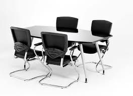 Black Boardroom Table Gloss Black Boardroom Table 1800mm