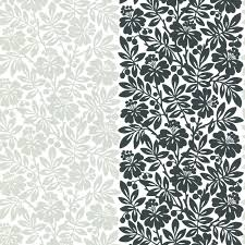 carlisle street metal floral wallpaper greene