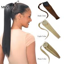 clip on ponytail wholesale human hair ponytail extensions 18 22 real hair