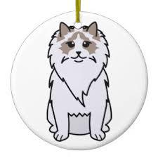 ragdoll ornaments keepsake ornaments zazzle