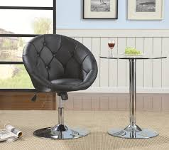 Vinyl Swivel Chair by Dining Chairs Ergonomic Leather Swivel Dining Chairs Photo