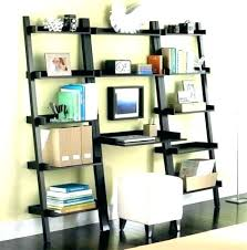 built in desk bookcase bookcase with built in desk bookcase and
