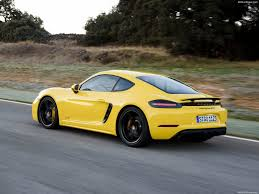 porsche signal yellow porsche 718 cayman gts 2018 pictures information u0026 specs
