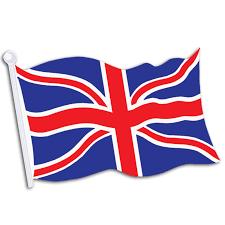 British Flag With Red British Flag Cutout Birthdayexpress Com