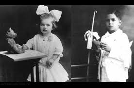 Desi Arnes by Lucille Ball In 1913 2yo And Desi Arnaz In 1923 6yo
