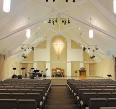 small church interior design