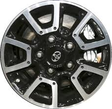 toyota tundra bolt pattern aly75157u45 pb01ma toyota tundra trd wheel black machined 426110c170