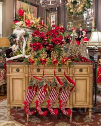 luxury christmas floral arrangements and decor