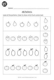 free same and different worksheet for pre k free pre k math