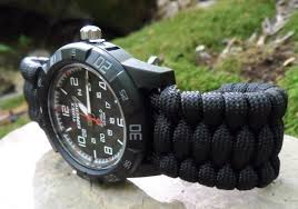 survival bracelet watches images Paracord watch band how to make and how to use one jpg