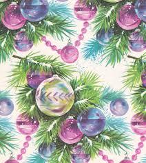 vintage wrap 1960s ornaments david flickr