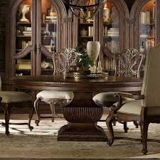 hooker dining room sets hooker pedestal dining table mckays furniture pertaining to decor